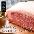 国産黒毛牛 熟成肉 サーロインブロック1kg 本当に美味しい熟成肉を食べた事がありますか?幾多の試行錯誤を繰り返し完成した真の熟成肉