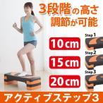 踏み台 昇降 昇降運動 台 アクティブステップ スリー ダイエット器具 健康器具 足