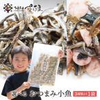 おつまみセット小魚 大容量(アーモンド小魚 or 食べるいりこ or 磯の香焼きの3種から1袋)メール便 チャック付き袋入り