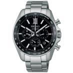 送料無料 新品 セイコー ブライツ 自動巻き クロノ メンズ 腕時計 SDGZ011 ブラック 国内正規