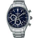 セイコー ブライツ メカニカル自動巻き クロノグラフ男性腕時計 コンフォテックス チタン SDGZ017