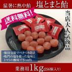 ショッピング熱中症 [送料無料]熱中飴 熱中症対策商品 塩とまと飴 1kg 業務用(個包装)
