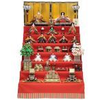 雛人形 十五人揃七段飾り 京七番 15人  幅120cm 183to2077 小出松寿 名匠