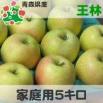 りんご 訳あり 5kg 青森県産 王林 家庭用 キズあり 5kg