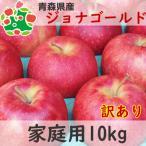 りんご 訳あり 1 0kg 青森県産 ジョナゴールド 家庭用 キズあり 10kg