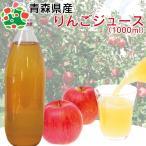 青森産 リンゴジュース サンふじ ストレートジュース 桜庭りんご農園オリジナル 無添加100% 1L りんごジュース1リットル12本入り