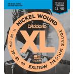 "D'Addario ダダリオ エレキギター弦 EXL115W ""XL Nickel Round Wound"" [daddario エレキ弦 EXL-115W](ゆうパケット対応)"