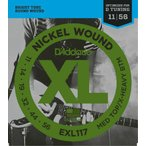 "D'Addario ダダリオ エレキギター弦 EXL117 ""XL Nickel Round Wound"" [daddario エレキ弦 EXL-117](ゆうパケット対応)"