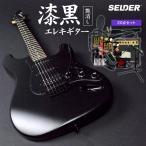 【今だけ譜面台付き!】エレキギター SELDER STC-04 2