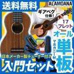 ウクレレ 初心者 入門 セット AlaMoana UK-360G (送