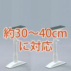 地震、防災 家具転倒防止伸縮棒S 30〜40cm×2本セット KTB-30 ホワイト アイリスオーヤマ