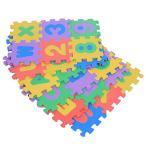 TOPINCN 36pcs プレイマット ベビー 子供パズルマットソフト EVA製 数字 アルファベット パズル 子供 おもちゃ プレ
