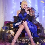 コスプレ衣装 Fate extella フェイト エクステラ Saber セイバー 風 ドレス 風 イベント コスチューム コミケhhc010
