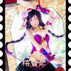 Yahoo!桜の恋コスプレ衣装 チャイナドレス ラブライブ コスプレ lovelive 東条希 とうじょ のぞみ 覚醒版hol16 一部 あすつく