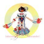 Yahoo!桜の恋ラブライブ lovelive 衣装 サーカス編 覚醒 小泉花陽  風コスプレ衣装 スクフェス 日常服  hol258 一部 あすつく