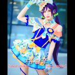 Yahoo!桜の恋「あすつく」アイドル アニメ 衣装! love  アイドル 覚醒 東条希 とうじょうのぞみ 風 コスプレ衣装hol306