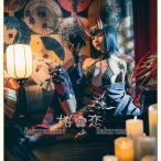 あすつく Fate Grand Order コスプレ 酒呑童子 風 和服 いばらきどうじ フェイト グランドオーダー コスプレ衣装 FGO 演出服 アニメuw598