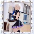 Fate Grand Order コスプレ マシュ・キリエライトメイド服  風  コスプレ衣装 FGO コスチューム フェイト グランドオーダー uw605