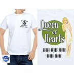 GIL ELVGREN「QUEEN OF HEARTS」半袖Tシャツ BUZZ RICKSON'S BR78023 バズリクソンズ ピンナップガール 東洋