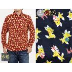 Yahoo!サクラスタイルサクラスタイル別注長袖レギュラーシャツ 狐 衣櫻 和柄 和風 日本製 送料無料 国産 キツネ