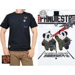 ショッピングエアフォース PJ-AIR FORCE半袖Tシャツ PANDIESTA JAPAN 588204 パンダ パンディエスタ ミリタリー 刺繍 エアフォース 送料無料