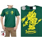 TATTOO半袖Tシャツ TEDMAN テッドマン TDSS-482 エフ商会 トライバル タトゥー メンズ 夏 Tシャツ