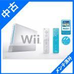 ショッピングWii Wii本体 (シロ) Wiiリモコンプラス2個、Wiiスポーツリゾート同梱 箱欠品