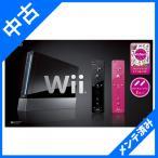 箱無し Wii本体(クロ) Wiiリモコンプラス2個、Wiiパーティ同梱