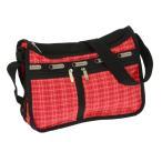 レスポートサック LeSportsac ショルダーバッグ DELUXE EVERYDAY BAG 7507 D601 TATTERSAL RED レッド系チェック柄 斜めがけバッグ 新品