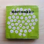マリメッコ marimekko ペーパーナプキン 紙ナプキン ランチサイズ 20枚 575729 PUKETTI プケッティ light green 花柄 ライトグリーン