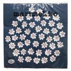 マリメッコ marimekko ペーパーナプキン 紙ナプキン ランチサイズ 20枚 575740 PUKETTI プケッティ blue 花柄 ブルー