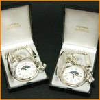 名入れ 懐中時計 「メッセージ彫刻 サン&ムーン クオーツ懐中時計」 [退職祝い][還暦祝い][内祝い][クリスマス][卒業記念][記念日ギフト]