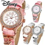 disney_y 腕時計 ディズニー Disney ミッキー レディース 本牛革 レザー ハート ハートチャーム