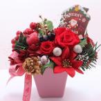 Yahoo!Flower salon Tinkerbellプリザーブドフラワー クリスマスアレンジ クリスマスギフト 母の日 誕生日 ブライダルギフト