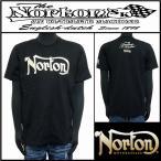 Tシャツ/Norton/ビッグユニオンジャックT/ブラック/Lサイズ/182N1006
