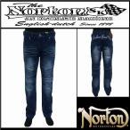 ボトムス/Norton/ノートン/ストレッチ2トーンライダースデニムパンツ/インディゴ/Lサイズ/193N1802