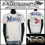 Tシャツ/Norton/ノートン/MANXT/ピンク/Mサイズ/32N1000