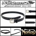 ベルト/Norton/ノートン/日本製/コンチョベルト/ブラック/FREEサイズ/63N8102