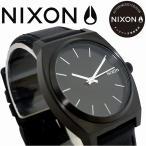 NIXON ニクソン 腕時計 メンズ レディース TIME TELLER ALLBLACK/WHITE NA045756 正規保証付