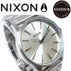 NIXON ニクソン 腕時計 メンズ  レディース SENTRY 38SS ALL SILVER NA4501920 正規保証付