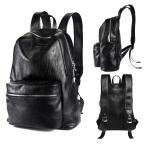 リュック メンズ リュックサック かばん カバン 鞄 レザー 革 通勤 通学 ビジネスバッグ 大容量 黒 バッグ 旅行 登山 品ある