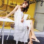 ショッピングマキシ丈ワンピース マキシワンピース シフォンワンピース ドレス マキシ丈ワンピース 通勤 結婚式 白 ホワイト 春 ロング   マキシワンピ ワンピース レディース