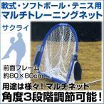野球 SAKURAI マルチトレーニングネット 【メール便不可】 トレーニンググッズ 自主練習