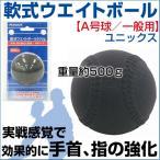 軟式ウエイトボール A号球 野球 SAKURAI(サクライ) 一般用 ピッチトレーナー トレーニンググッズ 重い ウェイト 投球 練習球 自主練習 筋トレ 筋肉強化
