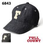 フルカウント 6843 6PANEL DENIM BASEBALL CAP