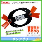アイウッド フリースパイダー本体プラス標準タイプ替刃1セット (98025+98026) iwood スパイダーモア替刃