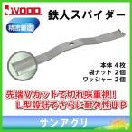 アイウッド (98096) 鉄人スパイダー 本体 4枚入 iwood スパイダーモア替刃