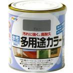 アサヒペン 水性多用途カラー 0.7L グレー