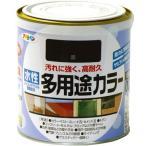 アサヒペン 水性多用途カラー 0.7L 黒