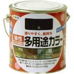 アサヒペン 油性多用途カラー 0.7L 黒